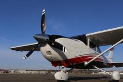 Boss 182 Landplane With a Trailblazer Prop