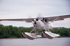 Cessna 185 With an IO-550 Engine Upgrade