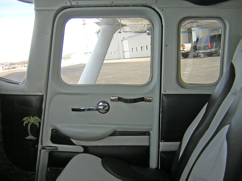 Inside View of a Co-Pilot Door