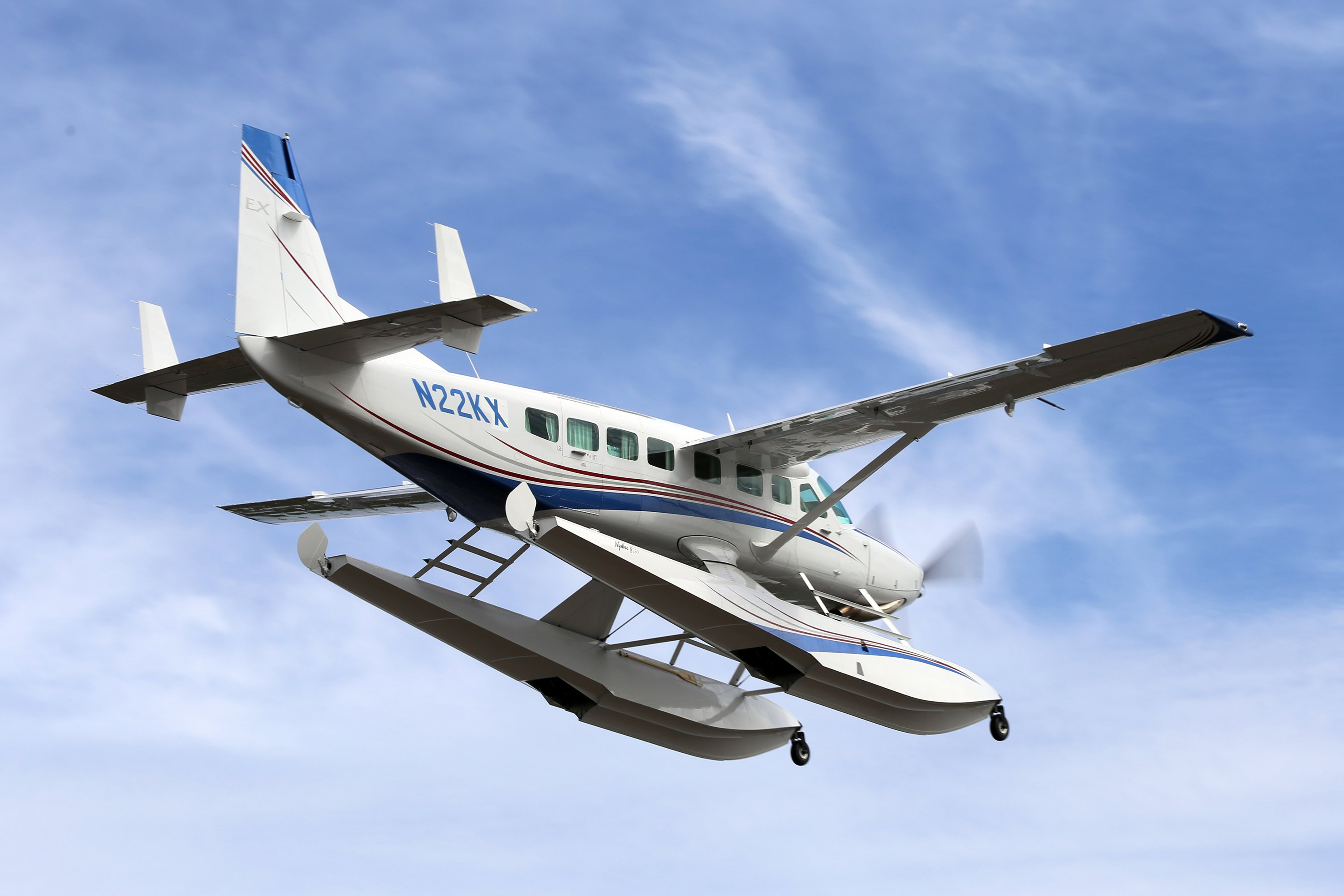 Cessna Grand Caravan on Wipline 8750 Floats