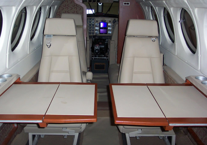 King-Air-C90-interior-1