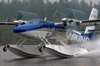 Viking Twin Otter 400 on Wipline 13000 Floats