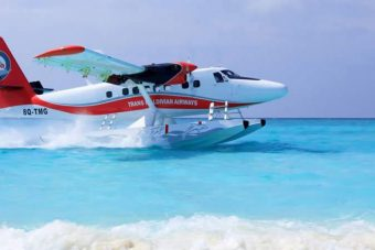 de Havilland Twin Otter on 13000 Floats Step