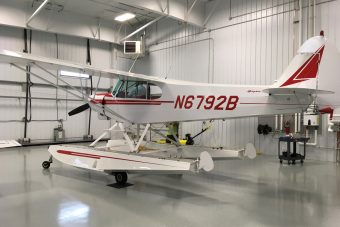 SOLD – 1956/2008 Amphibious Piper PA-18 Super Cub